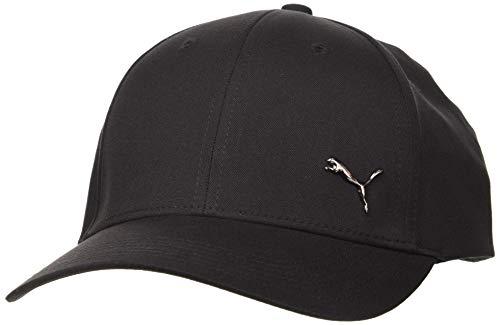 PUMA Erwachsene Metal Cat Cap Kappe, Black, Adult