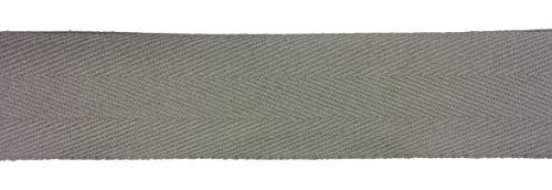 Logbuch-Verlag Baumwollband grau 10 m x 4 mm Kordel aus Baumwolle zum N/ähen Basteln Dekorieren N/ähband Dekoband