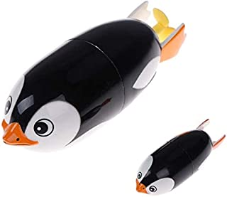 Zpong Electric Penguin Bath Toys Bathtub Diving Toys Baby Bath Fun Educational Toys for Children Bathtub Inflatable Pool G...