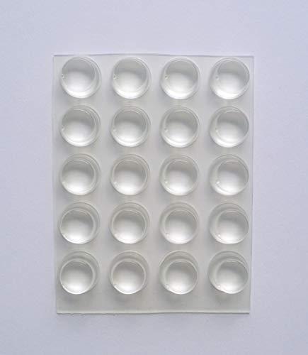Möbel Puffer selbstklebend zylindrisch transparent 2128