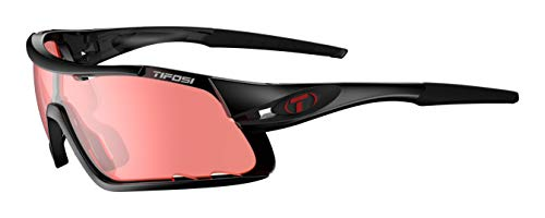 Tifosi Davos Cycling Sunglasses Crystal Black w/Enliven Bike lens