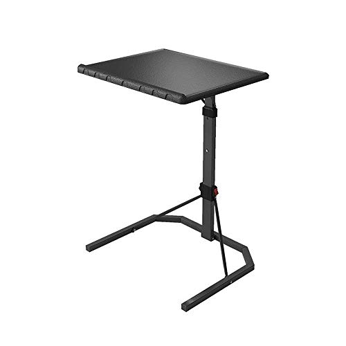 ZXY-NAN Hairdresser Laptop Cart,Folding Rolling Laptop Desk,Height Adjustable 76-106cm, Steel Frame,Storage Space Saving,for Living Room, Bedroom, The Study
