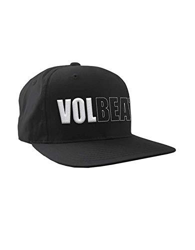 Volbeat Baseball Cap 3D Band Logo Nue offiziell Schwarz Snapback