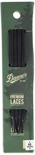 "Danner Laces 63"" Shoelaces, Black, Medium"