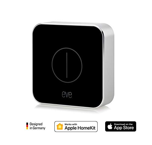 Eve Button - Mando para la casa conectada, Bluetooth Low Energy, negro (Apple HomeKit)