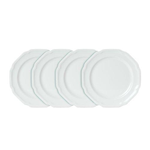 Mikasa Antique White Salad Plates, Set of 4 - Whit