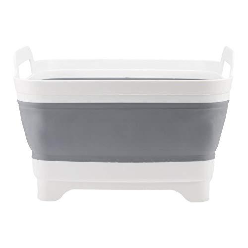 LQLQL Cubo de Lavabo Plegable portátil Ligero para Acampar