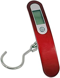 JJJJD Baggage Scale High-Precision Luggage Scale Handheld Small Portable Electronic Scale Maximum Weight 50KG for Family, Travel, Shopping (Color : B)