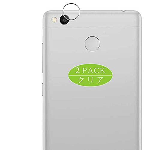 VacFun 2 Piezas Protector de Lente de cámara, compatible con Xiaomi Redmi 3s, Cámara Trasera Lente Protector(Not Cristal Templado)