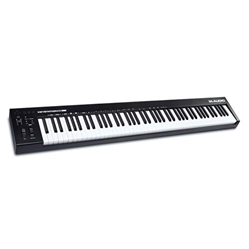 M-Audio Keystation 88 MK3 – 88 Key Semi Weighted MIDI Keyboard Controller for Complete Command of...
