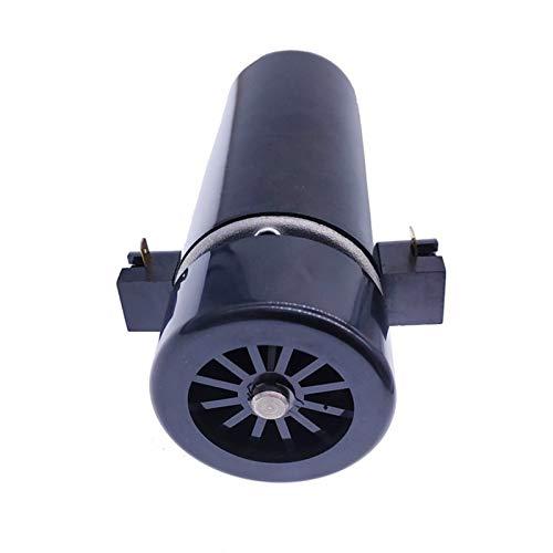 Lruirui-Motor DC Motor de husillo Fresco de Aire 500W, Cepillo de Carbono reemplazable del husillo de la máquina de Grabado CNC, DC 12V-48V, Larga Vida útil