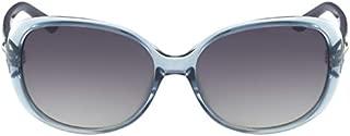 Polaroid 827886214877 Sunglasses For Women-Light Blue
