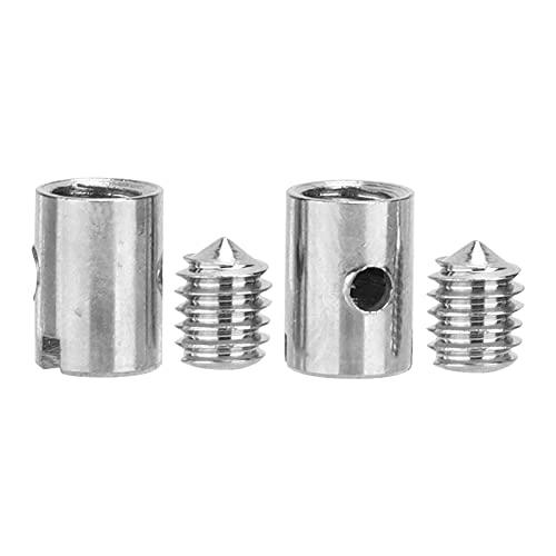 CHICIRIS Abrazaderas de Cable del Acelerador, Kit de Cable del Acelerador Resistente para el Trabajador de Mantenimiento de Motocicletas