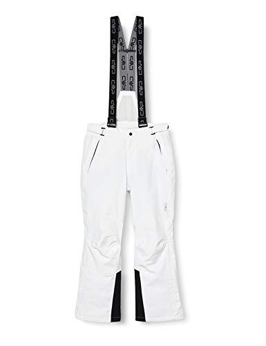 CMP Pantalon de Ski pour Homme, Blanc, 52