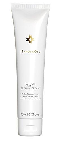 Paul Mitchell MarulaOil Rare Oil 3-in-1 Styling Cream - glättende Haar-Creme für mehr Geschmeidigkeit und leichten Halt, Haar-Pflege für alle Haartypen - 150 ml