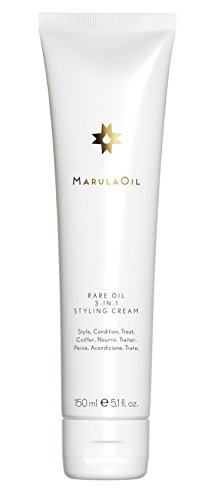 Paul Mitchell MarulaOil Rare Oil 3-in-1 Styling Cream - glättende Haar-Creme für mehr Geschmeidigkeit und leichten Halt, Haar-Pflege für alle Haartypen - 150 ml