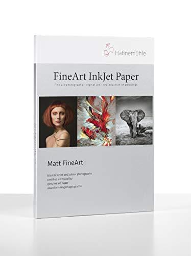 Hahnemühle 10641630 Digital FineArt Albrecht Dürer - Papel (210 g/m², DIN A3, 297 x 420 mm), color blanco