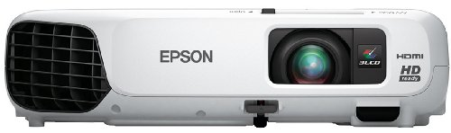 Epson Home Cinema 725HD, HDMI, 3LCD, 2800 Lumens Color and White Brightness, Home Entertainment Projector