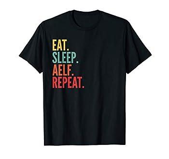 Aelf Crypto Eat Sleep Aelf Repeat T-Shirt