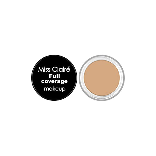 Miss Claire Full Coverage Makeup + Concealer #7, Beige, 6...