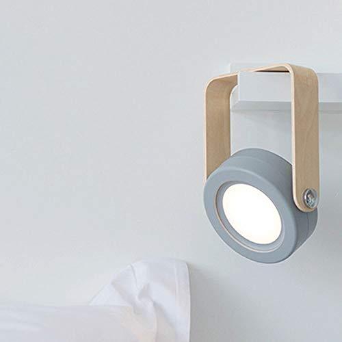 TL Laternen-Lampen-Nachtlicht, Falten Augenschutz Tischlampe USB Neue Exotische Atmosphäre Zu Hause Lampe,Grau