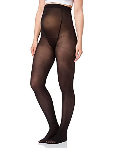 MAMALICIOUS MLSABINE Pantyhose 2 Pack A. Noos Pantimedias, Color negro, M para Mujer