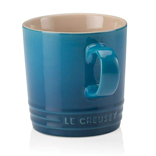 Le Creuset beker met handvat, 200 ml, aardewerk, 10 cm hoog, marseille