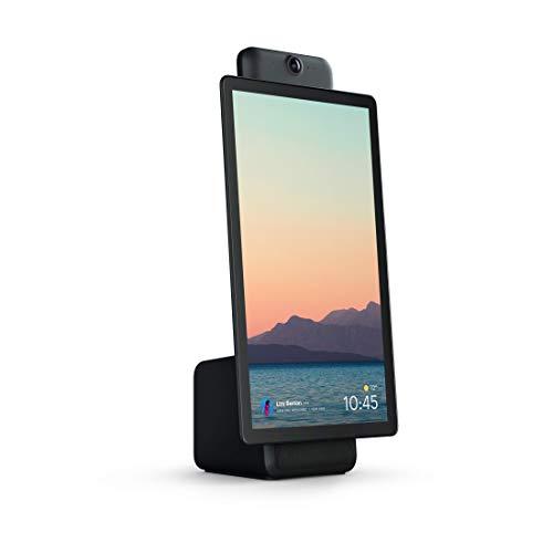 Portal Plus Black from Facebook. Smart, Hands-Free Video Calling with Alexa Built-in [Importación inglesa]