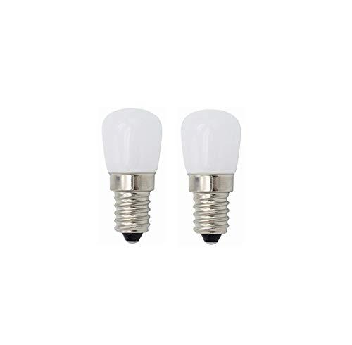 Koelkast Gloeilampen E14 LED-lampen 3W, vintage LED-lampen for Koelkast Koelkast, Naaimachine, Afzuigkap Verlichting 220V 2 stuks WELSUN (Color : Warm white)