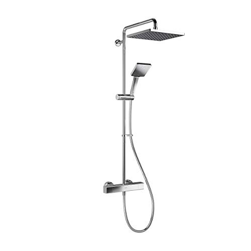 Mira Showers 1.1901.002 Honesty Dual Outlet Square Bar Valve Mixer Shower,...