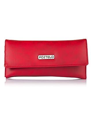 Fostelo Women's Melanie Two Fold Wallet (Red)