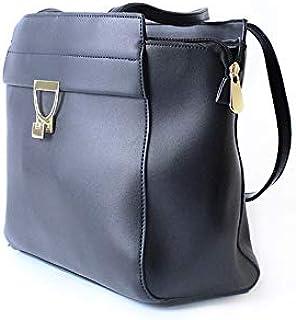 Lenz Satchels Bag For Women, Black, AM19-B131