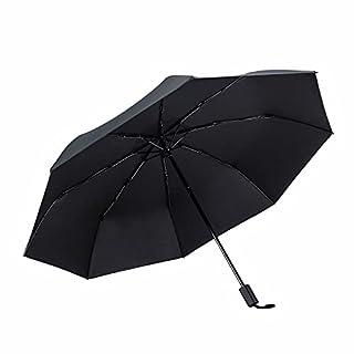 Vialifer 折りたたみ傘 日傘 メンズ レディース 大きい 耐風 撥水 晴雨兼用 男子日傘 UVカット 紫外線遮蔽 折り畳み傘 梅雨対策 台風対応 父の日 プレゼント ギフト 収納ポーチ付き