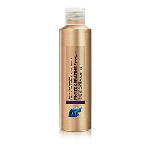 Phyto Phytokeratine Extreme Shampoo D'Eccezione alla Cheratina Vegetale, Adatto a Capelli Molto Rovinati, Secchi, che si Spezzano. Ripara, Nutre e Illumina. Formato da 200ml