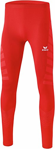Erima 2290701 Collant long Homme, Rouge, FR (Taille Fabricant : XL)