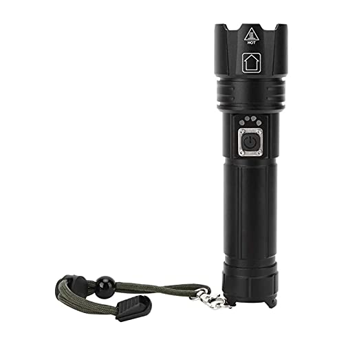SONG Taschenlampe LED, Ultra Helle Tragbare LED-Taschenlampe, USB-Ladung Multifunktions-Zoom-Taschenlampe, Outdoor-Camping-Notfall-Ruder-Fackel