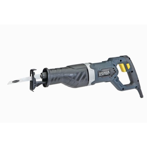 9 Amp Heavy Duty Variable Speed Reciprocating Saw with Quick Release Twist-style Blade Chuck