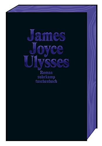 Ulysses Sonderausgabe Dunkelblau (suhrkamp taschenbuch)