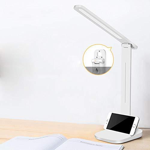 Dormitorio lámpara de escritorio escritorio trabajo de oficina simple LED dormitorio de estudiantes protección ocular lámpara de lectura