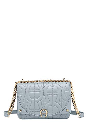 Aigner Damen Mini Tasche Diadora XS Shadow Grey