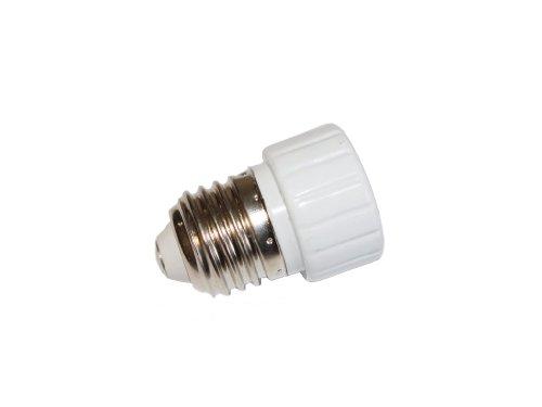 Preisvergleich Produktbild Lampen Adapter Sockel GU10 auf Sockel E27