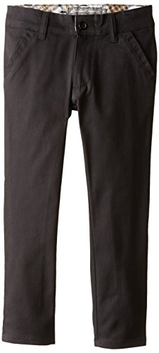 Eddie Bauer Girls' Twill Pant (More Styles Available), Warm Navy, 6X