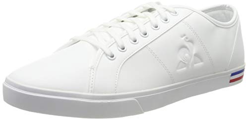 Le Coq Sportif Verdon Premium, Zapatillas para Hombre, Blanc Optical White, 47 EU