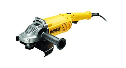 Dewalt DWE494-QS Amoladora 230 mm 2.200W 6.500 rpm, Negro/Amarillo, 2.200 W