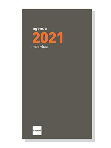 Finocam - Recambio Anual 2021 Mes vista Plana P497 Español