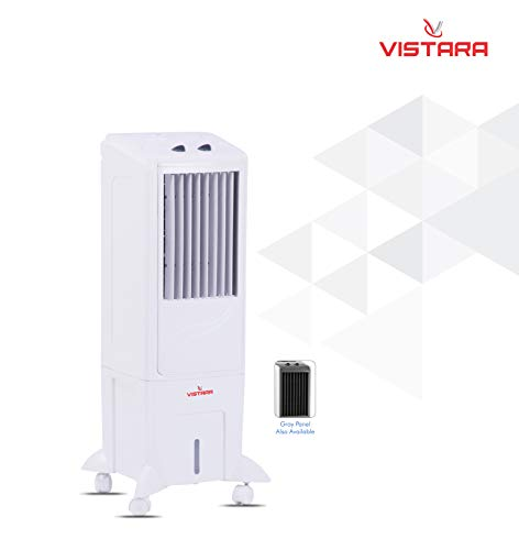 Vistara Nexa Tower Air Cooler 25 Liters Tower Air Cooler with Ice Chamber (White)