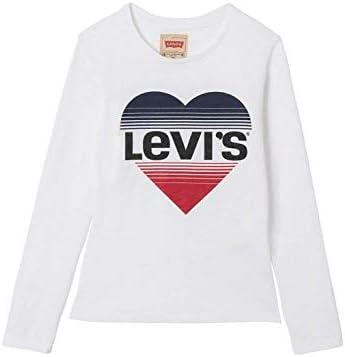 Camiseta Levi's BISOUL Blanco de Manga Larga para Niño