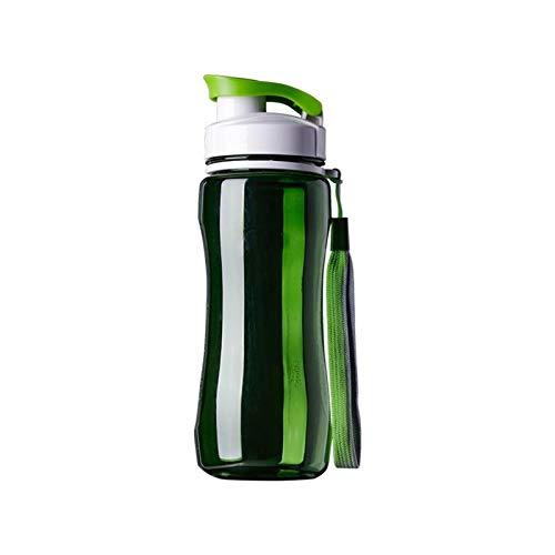 ZHJKK 19oz 24 oz Sports Water Bottle Portable Fugas de Fugas para SportStravel Space Bike Senderismo Botella de Agua de plástico (Capacity : 720ml, Color : Green)