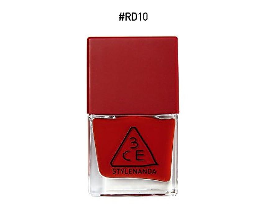 ジュニアスタック敗北3CE RED RECIPE LONG LASTING NAIL LACQUER/レッドレシピ ロングラスティング ネイルラッカー (RD10) [並行輸入品]