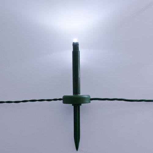 XMASKING 24 Garden DOT Ministicks, 24 m, powerled Bianco, Cavo Verde